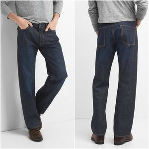 Gap Relaxed Jeans in Dark Resin 38 x 36